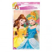 Disney Princess Table Cover - Disney Princess Party Tableware - Plastic. 120cm x 180cm. Matching partyware available.