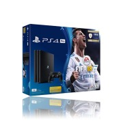 Sony PlayStation 4 Pro inkl. Fifa 18 1 TB, Black
