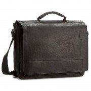 Táska STRELLSON - Upminster Briefbag L 4010001923 Black 900
