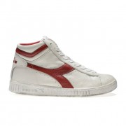 Diadora Game L High Waxed heren sneakers - Wit - Size: 44