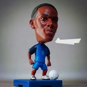 "Football star Soccerwe+ Soccer Player Movable Dolls 11# MARTIAL (FRA +2016) 2.5"" Action Figure"