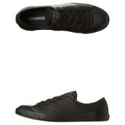 Converse Chuck Taylor Womens All Star Dainty Leather Lo Shoe Black Mono