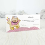 Mapă de bani & Card de masă trenuleț cod 7505