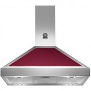 La Germania K90amhvia Cappa A Parete 90 Cm 800 M³/h Classe A Colore Inox E Vino