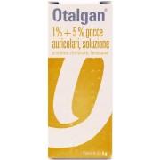 Swiss Pharma Gmbh Otalgan 1% + 5% Gocce Auricolari, Soluzione Flacone Da 6G