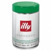 Cafea ILLY Espresso Decofeinizata Boabe 250 gr.