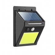 Lampa Perete cu LED Cob MRG A332 solara si senzor de miscare 48 LED