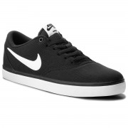 Обувки NIKE - Sb Check Solar Cnvs 843896 001 Black/White