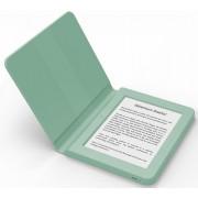 """E-Book Reader Bookeen SAGA, Ecran Multi-touch capacitive touchscreen E-Ink 6"""", Procesor 1GHz, 8GB Flash, Wi-Fi + Husa silicon inclusa (Verde)"""