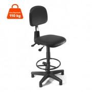 Cadeira Caixa Cruze com Regulagem de Encosto Corano Preto