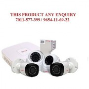 CP PLUS- 1 MP 4 CHANNEL High Definition Digital Video Recorder 2 x HD Dome Cameras 2 x HD Bullet Cameras Power Suplay Bnc Dc