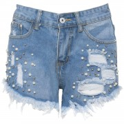 Shorts Pearly Denim - Shorts