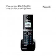 Panasonic KX-TGA806 slúchadlo s nabíjačkou