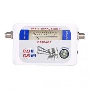 Docooler Receptor de señal de satélite DVB-T con puntero brújula