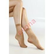 -SARANA stretch bokafix 15 DEN, bronz, m:36-41, 2 pár