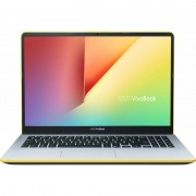 Laptop Asus VivoBook S1 S530FA-BQ005 15.6 inch FHD Intel Core i5-8265U 8GB SSD 256GB Endless OS Silver Yellow