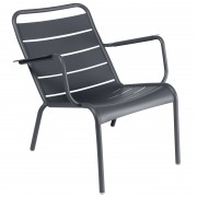 Fermob Luxembourg fauteuil Anthracite