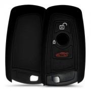 kwmobile Silikonový obal na autoklíč pro BMW - černá