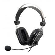 "Casti A4TECH Stereo, microfon pe casca, control volum pe fir, ""HS- 50"" EAN 4711421698658"
