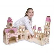Castelul Printesei Melissa & Doug, pliabil, 3 ani+