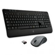 Set Logitech Wireless Combo MK520, USB, CZ