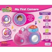 Primul meu aparat foto Little Learner confectionata din plastic rezistent Multicolor