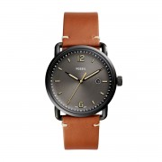 Часовник FOSSIL - The Commuter 3H Date FS5276 Light Brown/Black