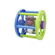 Ratna's Rolling Monkey for Infants. Roll it Ahead and it Will Come Back to You.