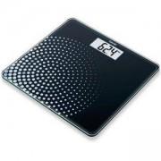 Електронна стъклена везна Beurer, LCD дисплей, компактен дизайн, черна, GS210