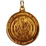 Gold plated Mahamrutyunjay Yantra locket