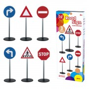 Set 3 semne circulatie Road Sign