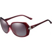 PARIM Rectangular Sunglasses(Violet)