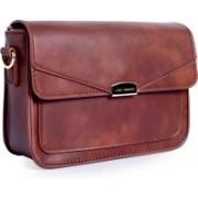 Lino Perros Sling Bag(Brown)