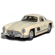 ROYALS Die-Cast Metal 1954 Mercedes-Benz 300 SL Coupe Car Toy Pull Back Action..…(RANDOM COLOR)