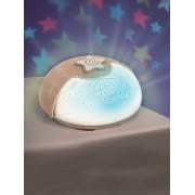 BLUE BOX Luz de presença musical evolutiva INFANTINO Projecto lampe bege claro liso