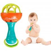 Sonajeros Para Bebés Juguetes Educativos Novedad Juguete De Plástico Divertido Shake Bell Ring Para Bebé-multicolor