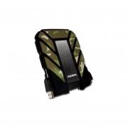 Disco Duro Portátil ADATA DashDrive Durable HD710 De 1 TB A Prueba De Agua Y Golpes, USB 3.0. Verde Militar AHD710M-1TU3-CCF