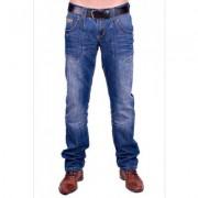Cars Jeans Bedford Reading ( Stonewashed Used ) - Blauw - Size: 36/32