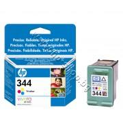 Касета HP 344, Tri-color, p/n C9363EE - Оригинален HP консуматив - касета с глава и мастило