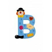 Sevi fa betűk - B - kék Bohóc