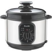 Preethi TWIST-5.0L Electric Rice Cooker(5 L, Silver)