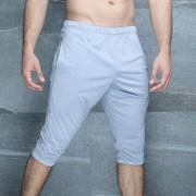 McKillop Slider Impulse Heathered Long Shorts Light Grey DCIM-LG2