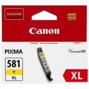 Мастилена касета Canon CLI-581 XL Y, 8.3 ml, Yellow, 2051C001AA