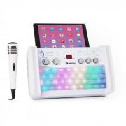 DiscoFever 2.0 Karaokeanlage, BT, multicolor Disco-LED, CD-/CD+G-Player