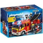 Комплект Плеймобил 5363 - Противопожарна кола със светлини и звук, Playmobil, 291101