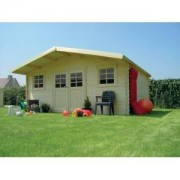 Cabane de jardin en bois VEVEY 24.3 m2