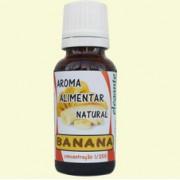 Elegante Aroma Natural de Banana