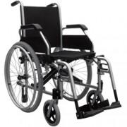 sedia a rotelle / carrozzina standard con schienale fisso - minor ing