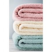 ULTRA LUXURY QUALITY FOR INDIA Bath Hand Towel 34cm34cm 100 Cotton Facecloth Soft Washcloth Beige / Bibs - 3 pc