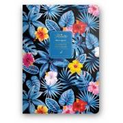 Dolce Blocco Florette Notebook A5, Blue Lagoon